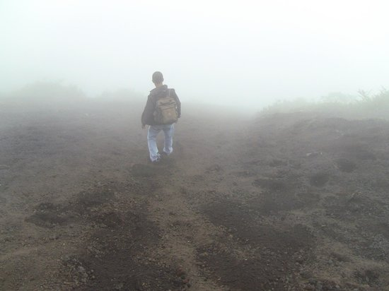 Guatemala: Volcano guide Roberto.