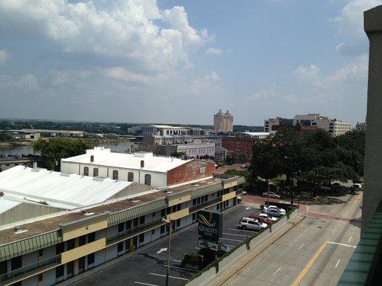 Hilton Garden Inn Savannah Historic District: 6th Floor looking East