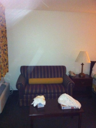Best Western Milton Inn: Love seat and coffee table