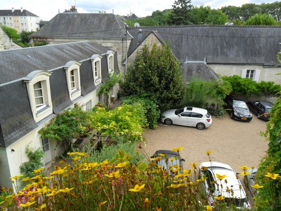 Hotel Diderot: Courtyard