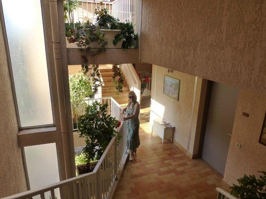 Le Mozart Hotel : Scale di accesso alle camere