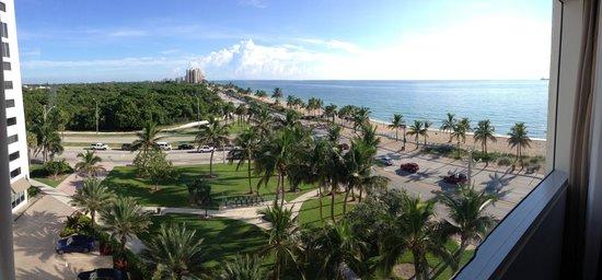Sonesta Fort Lauderdale Beach: Zimmeraussicht
