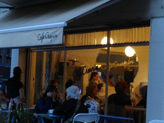 Cafe Crespin: Exterior del local