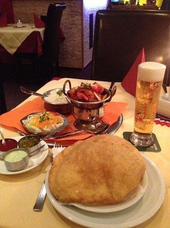 Indisches Restaurant Maharadscha: karahi chicken - mein lieblingsessen!