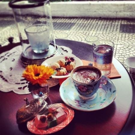 Faik Pasha Hotel : turkish coffee yummy