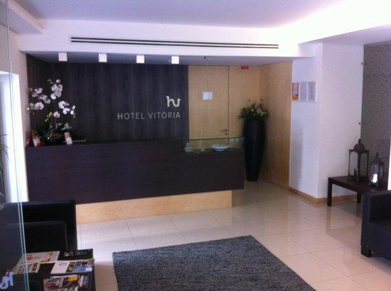 Hotel Vitoria : Receção