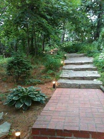 Briggs Pond : Garden Stairway