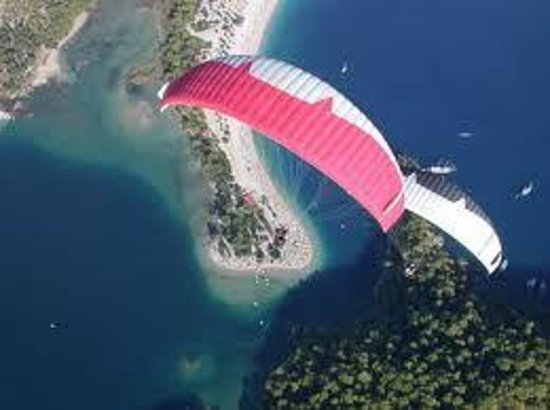 flying like a bird - Picture of Sky Sports paragliding ...