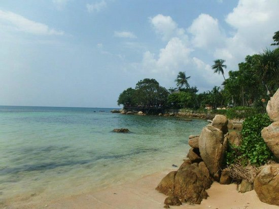 Haad Son Resort & Restaurant: Private beach