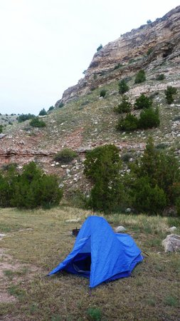 Guernsey State Park: Fish Creek Canyon Campground