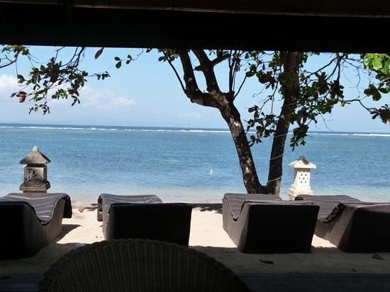 Peneeda View Beach Hotel: View from the restaurant