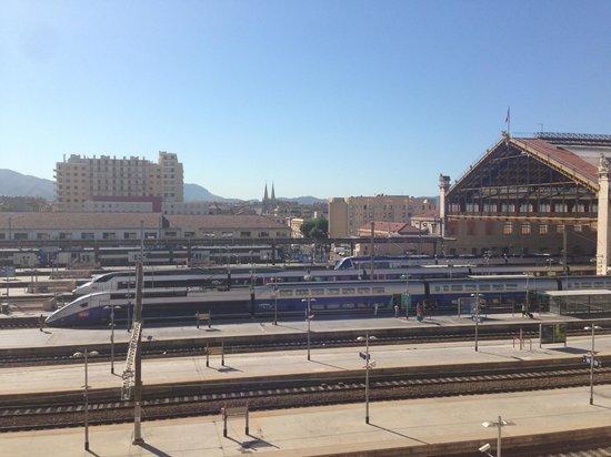 Adagio Access Marseille Saint Charles : Vue de la chambre