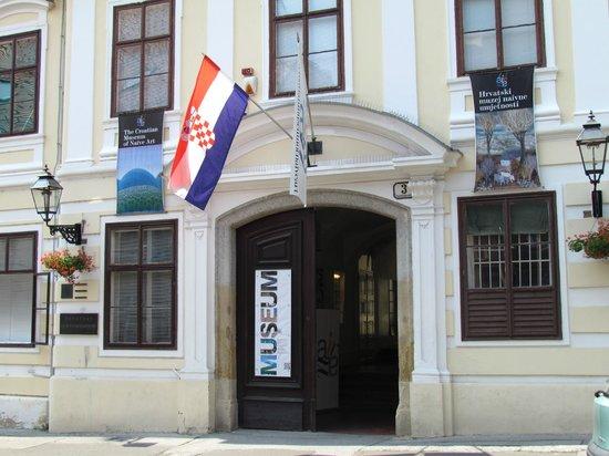 Croatian Museum of Naive Art entrance