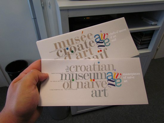 Croatian Museum of Naive Art: Must-read pamphlet