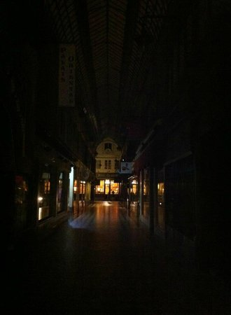 Hotel Chopin: nightime