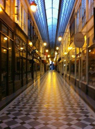 Hotel Chopin: passage jouffroy