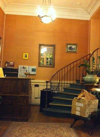 Hotel Chopin: lobby