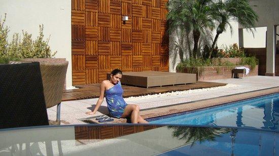 Windsor Plaza Brasilia Hotel: Na piscina do hotel