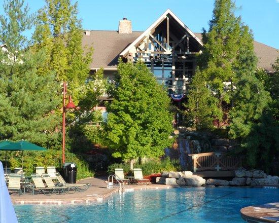 Marriott's Willow Ridge Lodge: Main Lodge and Lobby
