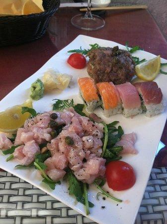 Oyster & Sushi Bar Bota : Carpaccio & Sushi