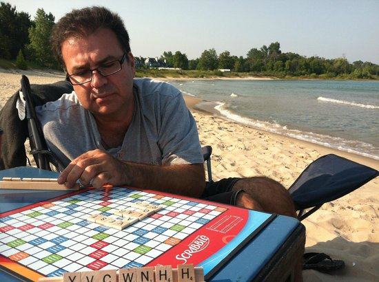 Petoskey State Park: Gaming on the beach