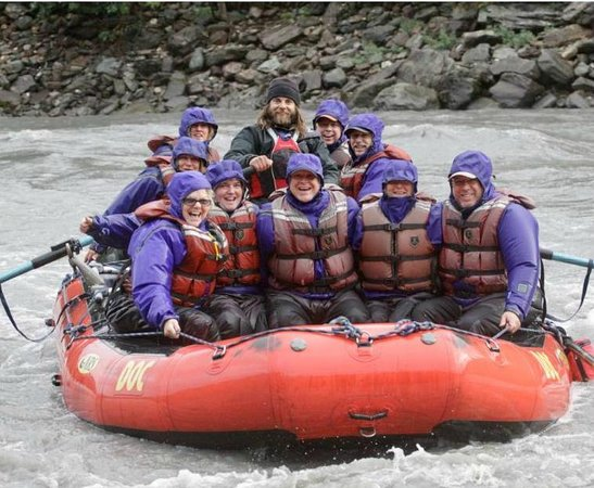 Denali Outdoor Center: The smiles say it all!