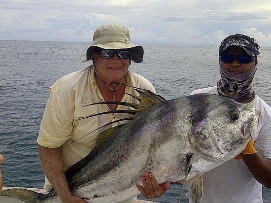 "Reel Intense Adventures - La Vida Sportfishing: Roosterfish measuring 64"""