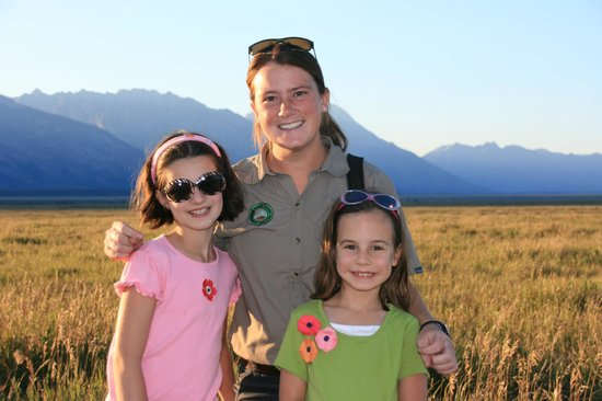 Wildlife Expeditions of Teton Science Schools: Our guide, Marian
