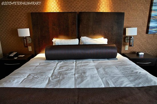 Spirit Mountain Casino Lodge: Sleep like a log