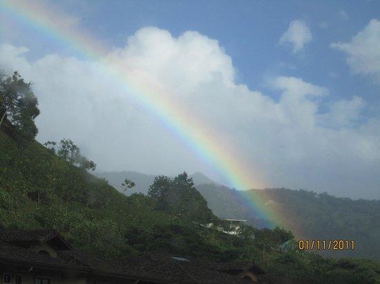 Valle Escondido Resort Golf & Spa: Rainbows everywhere
