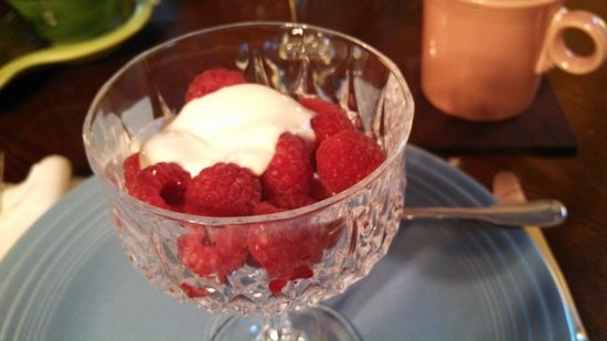 Sweet Biscuit Inn: fresh raspberries