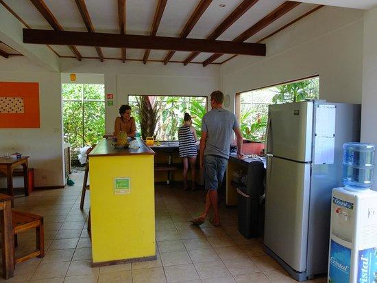 Pagalu Hostel: Küche