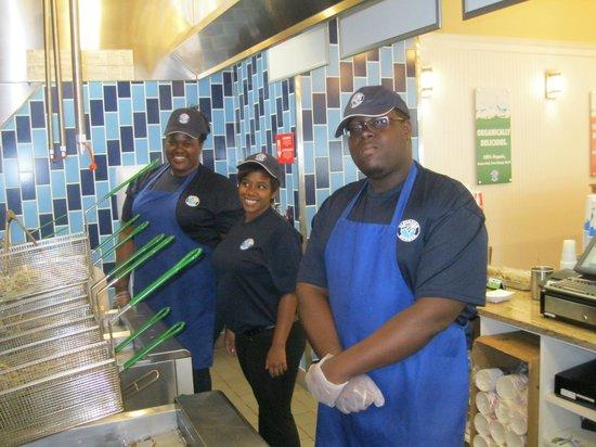 Elevation Burger Ann Arbor - Washtenaw: Our lovely staff