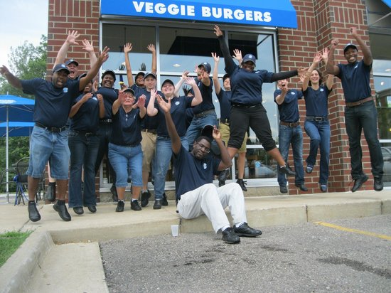 Elevation Burger Ann Arbor - Washtenaw: Excited to finally open!
