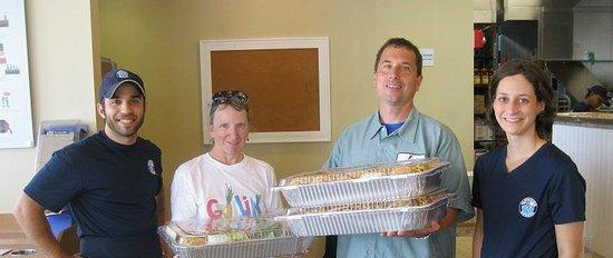 Elevation Burger Ann Arbor - Washtenaw: Donated food to Food Gatherers