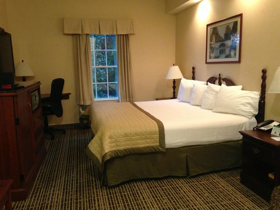 Baymont Inn and Suites Jacksonville/at Butler Blvd.: Bed
