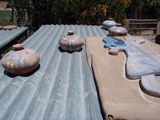 Ceramicas Seminario: Drying the pottery