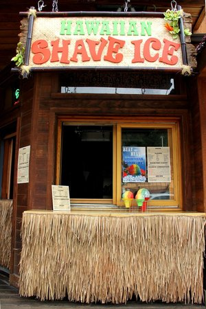 Front view of Island Oasis Hawaiian Shave Ice