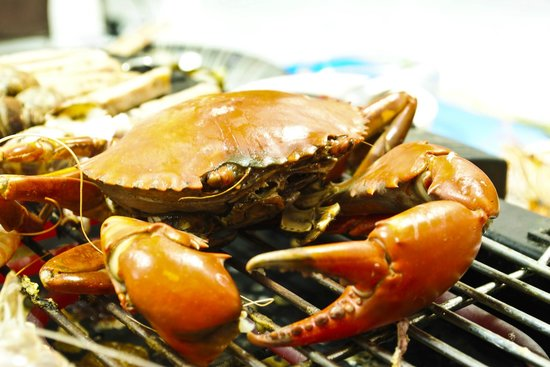 Andart Rorm Seafood Restaurant: Grilled Crab