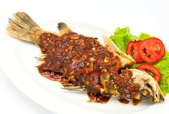 Fried fish sweet sour picture of andart rorm seafood for Fried fish restaurants