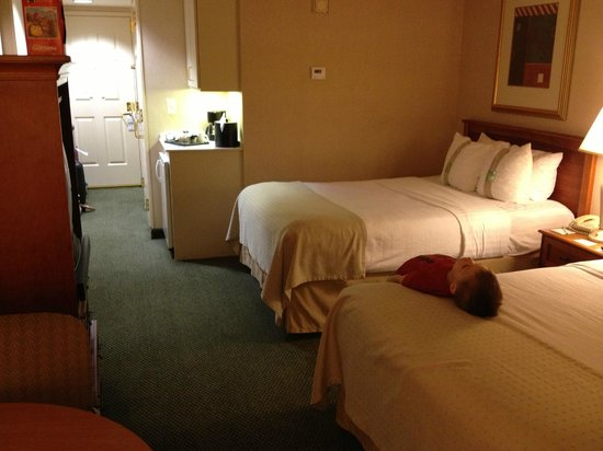 Holiday Inn Anaheim-Resort Area: Bed are Comfy
