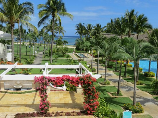 Sugar Beach Golf & Spa Resort: View from the Foyer