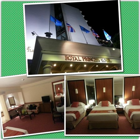 Dusit Princess Chiang Mai: Triple room view :)