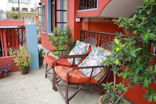 Holy Lodge: terrace