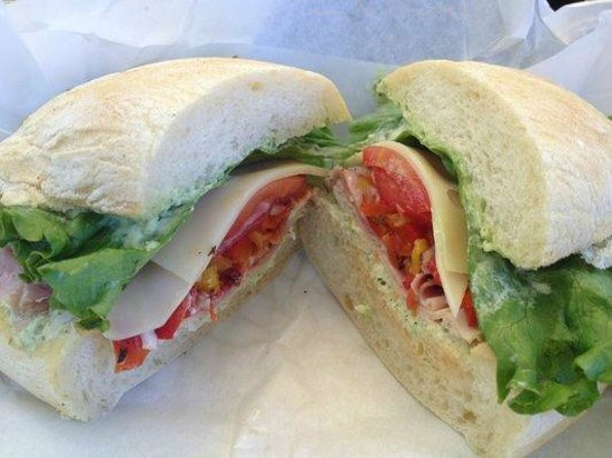 Zoccoli's Delicatessen: italian club on ciabatta