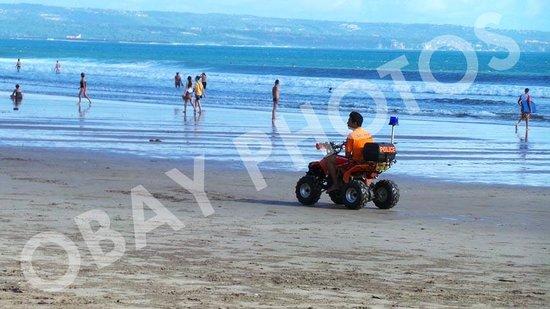 Double Six Beach: beach patrol