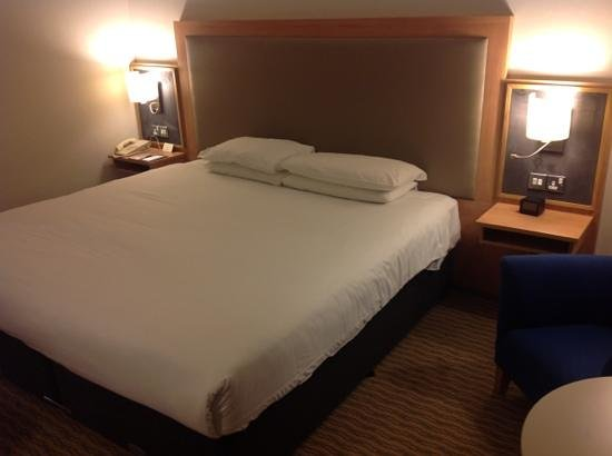 Clayton Hotel Burlington Road: Room with king size bed