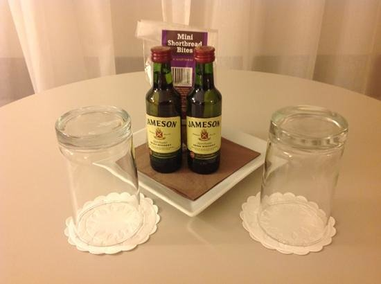 Clayton Hotel Burlington Road: Welcome gift for HHonors