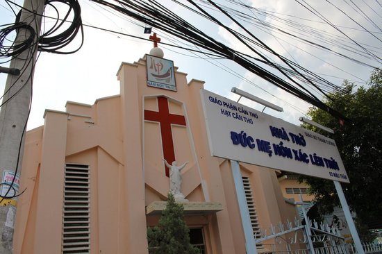 Tham Tuong Church with Cross