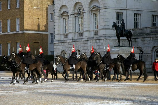 Horse Guards Building: The Parade